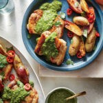 Chimichurri Chicken Thighs with Potatoes