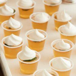 Mint Julep Jelly Shots