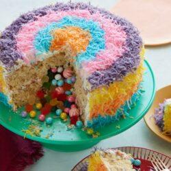 Stuffed Pinata Cake