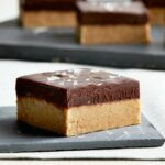 Recipe of the Day: No-Bake Peanut Butter Bars with Salted Chocolate Ganache