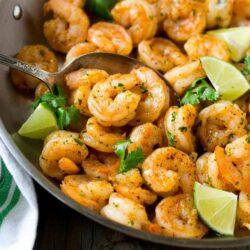 Easy To Make Cilantro Lime Shrimp Prep 10 min