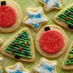 Jennifer's Iced Sugar Cookies
