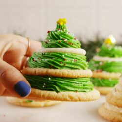 Sugar Cookie Trees are SO much more fun than decorating your tree.
