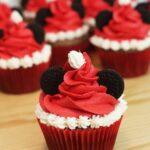 Mickey Mouse Christmas Cupcakes