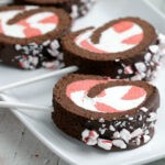 Peppermint Roll Cake Pops