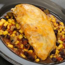 Santa Fe Baked Chicken