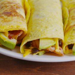 Low-Carb Breakfast Wraps