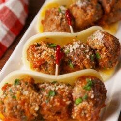 No-Bread Meatball Sub