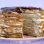 Simple Tiramisu Crepe Cake