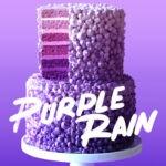 Purple Rain Cake