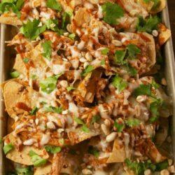 Chicken Pad Thai Nachos