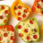 Mini Pepper Pizzas