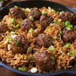 Mongolian Meatball Ramen