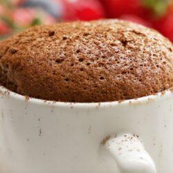 Chocolate Espresso Soufflés