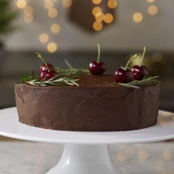 Creamy Chocolate Torte