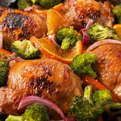 Skillet Balsamic Tangelo Chicken