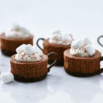 Hot Cocoa Cheesecake Minis