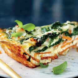 Sweet Potato-Crusted Quiche