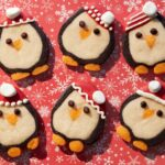 Penguin Slice-and-Bake Cookies