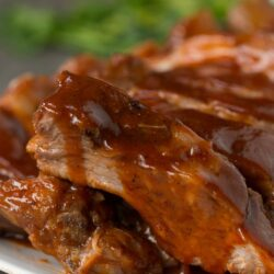 Slow-Cooker Pineapple Baby Back Ribs