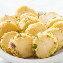 Slice-and-Bake Pistachio Butter Cookies