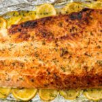 Baked Garlic Butter Salmon