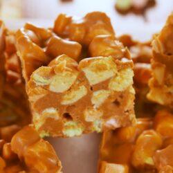 Peanut Butter Marshmallow Squares