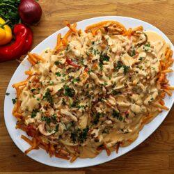 Chicken Fajita Loaded Fries