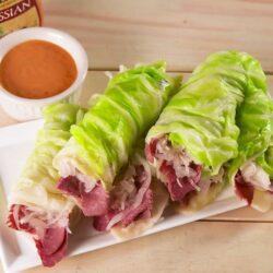 Low-Carb Reuben Wraps