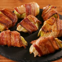 Bacon Cabbage Dippers
