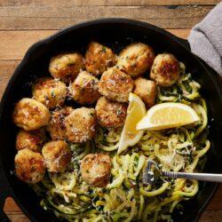 Garlic Butter Turkey Meatballs
