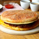Giant Sausage & Egg McMuffin