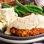 Chicken Fried Steak Dinner For Two