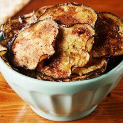 Eggplant Parm Chips