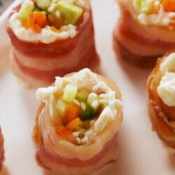 Keto Bacon Sushi