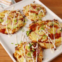 BBQ Chicken Crust Pizza