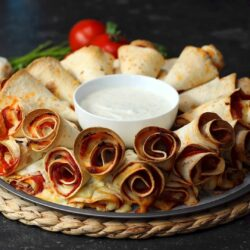 Pizza Cone Dip Ring