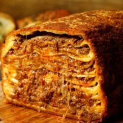 20 Layer Deep Fried Lasagna
