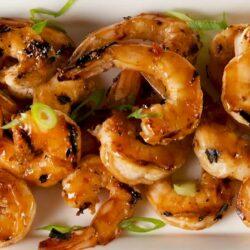 Spiced Rum Glazed Shrimp
