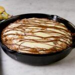Skillet Cheesecake Banana Bread