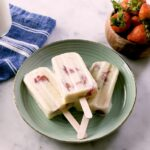Strawberries & Cream Pops