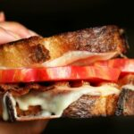 Grilled Cheese with Tomatoes and Bacon