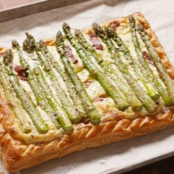 Bacon-Asparagus Tart delish