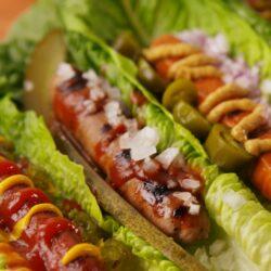 No-Bun Hot Dogs