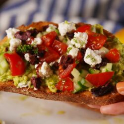 Greek Avocado Toast