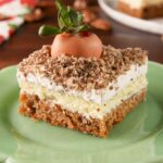 Carrot Patch Cheesecake Bars