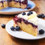 Blueberry Lemon Upside Down Cake