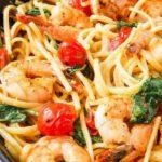 Creamy Shrimp Linguine