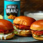 Heinz Beanz Burger