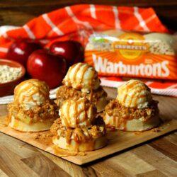 Warburtons Toffee Apple Crumble Crumpets